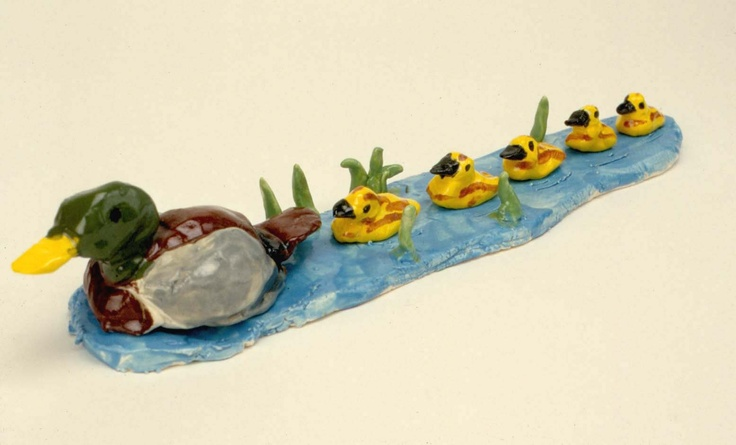 Fun clay project for special classes or lessons.