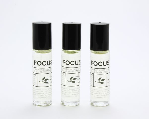 Focus - Aromatherapy Oil - $15 - #aromatherapy #essentialoils #backtoschool #examtime #studying #adhd #add