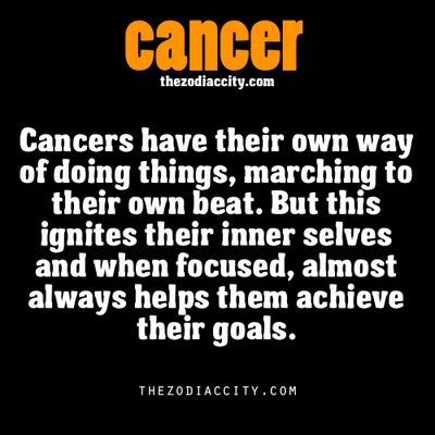 Zodiac Cancer facts. Truth. I've been told I do things in a very different manner...but usually works great for me to get things done. :p