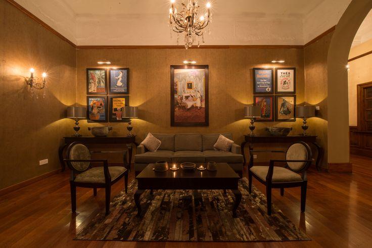 The Tea Lounge where The Grand Hotel serve their signature welcome tea - Vanilla Tea