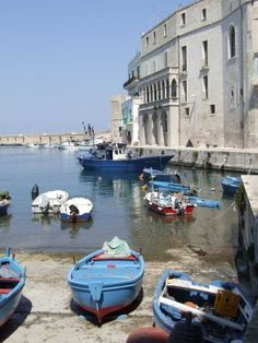 Monopoli Harbour, Province of Bari, Puglia, Italy