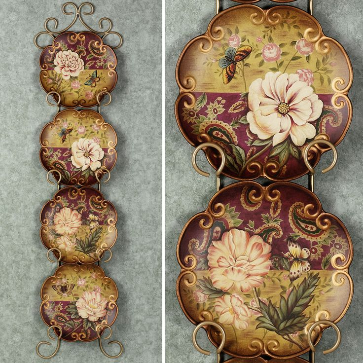 Decorative Wall Plates Set 117 best home decor: decorative chargers/plates images on
