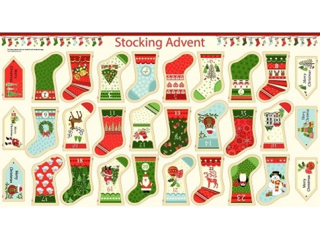 Christmas Stocking,Advent Calendar