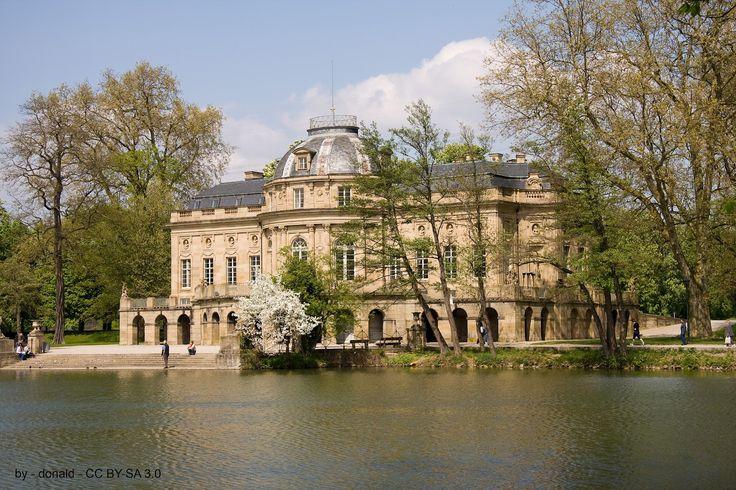 035. Seeschloss Monrepos in Ludwigsburg. Germany.