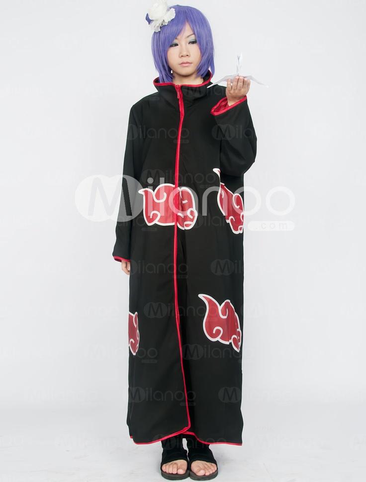 Naruto Akatsuki Konan Cosplay Costume - Milanoo.com