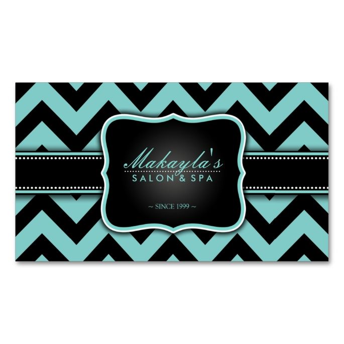 1653 best chevron zigzag business cards images on pinterest elegant teal blue and black chevron pattern business card colourmoves