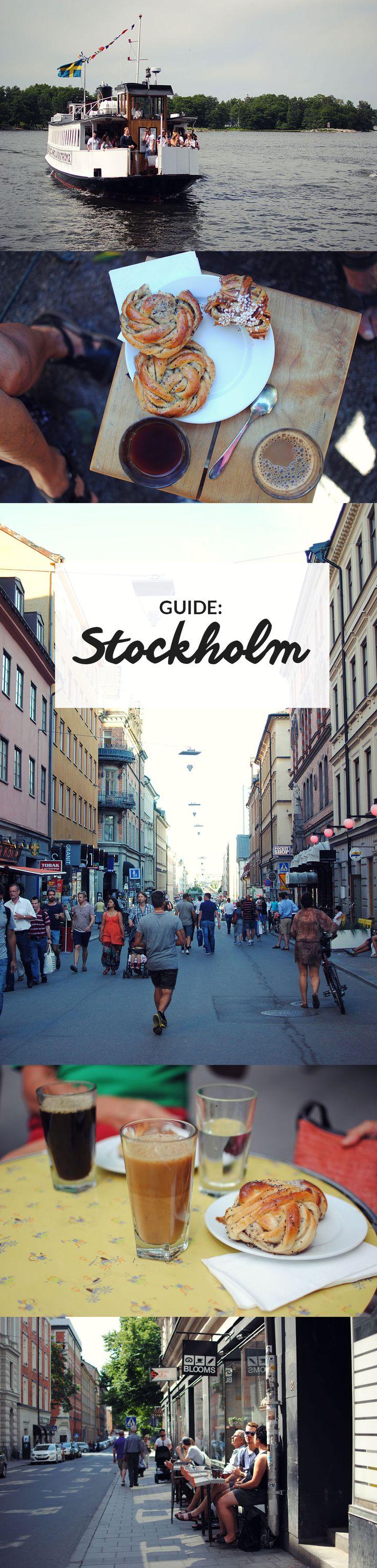 Guide til Stockholm | De bedste restauranter, caféer og oplevelser