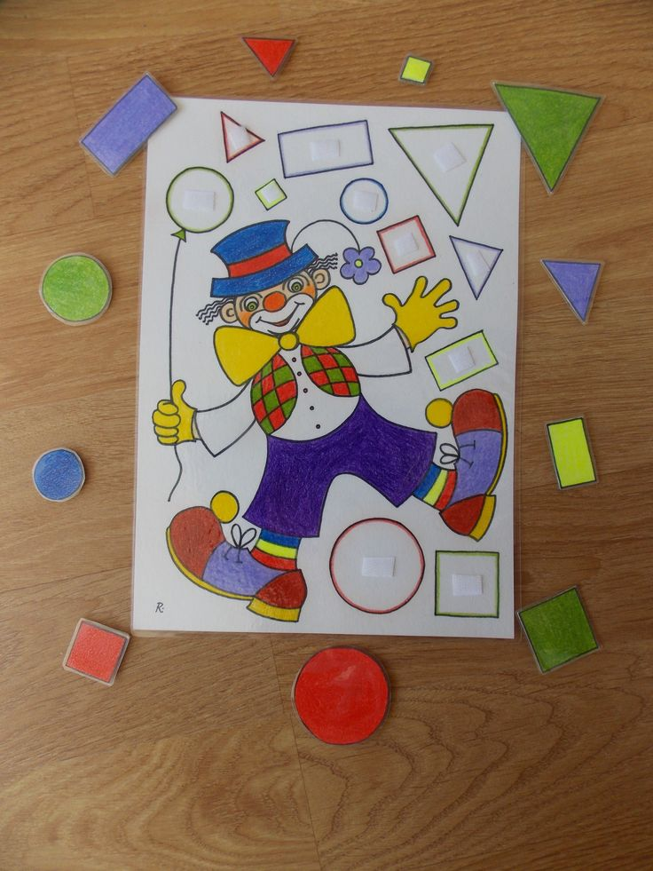 * Vormen clown! 1-2