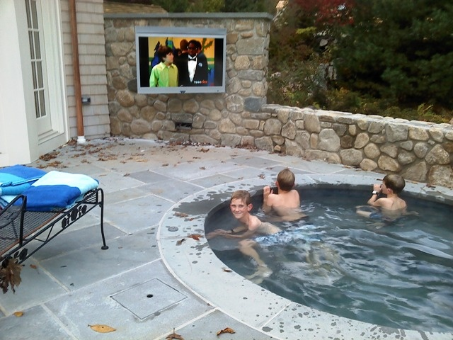 1000 images about outdoor tv mounts on pinterest for Pool show charlotte