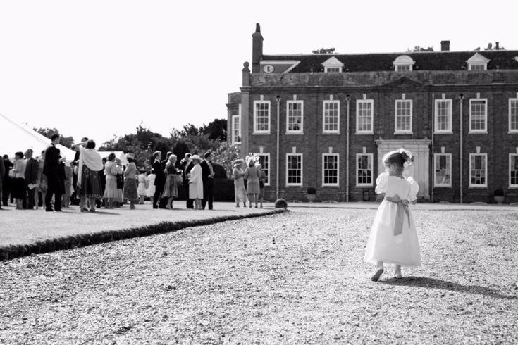Intimate wedding Belchamp hall