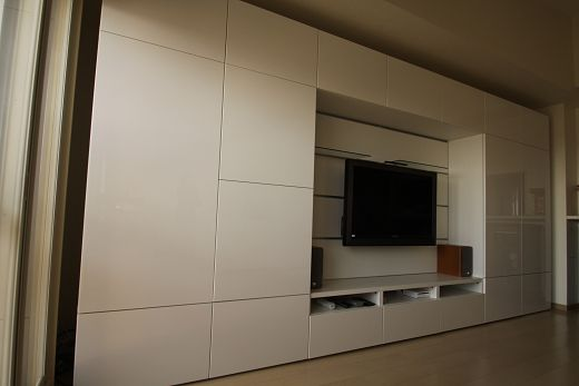 album 6 banc tv besta ikea panneau framsta r alisations clients tv wand pinterest. Black Bedroom Furniture Sets. Home Design Ideas