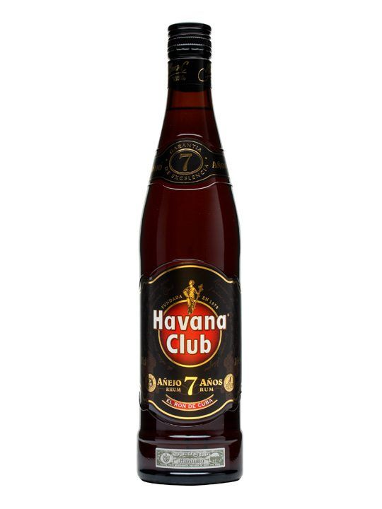Havana Club 7 Year Old Rum / Anejo : £21.49 Buy Online - The Whisky Exchange - Havana Club 7yo is a full-flavoured, rich and sophisticated Cuban rum with a high degree of elegance and class. A deservedly popular rum.