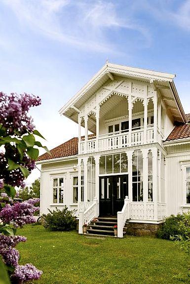 Traditional norwegian house -sveitservilla