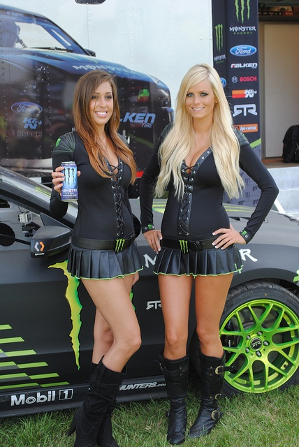 Pictures of hot girls that sponsor monster energy