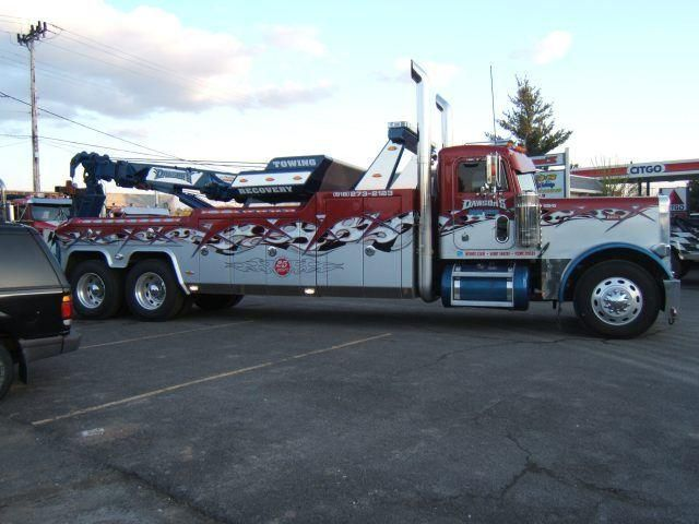 Peterbilt Heavy Duty Tow Trucks | ... peterbilt 379 heavy duty wrecker tow truck for sale in new york email