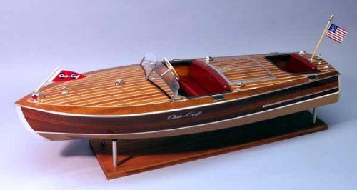 Dumas Chris Craft Racing Runabout 1949 Wooden 1:8 Scale Model Boat Kit - available from Hobbies, the UK's favourite online hobby store!