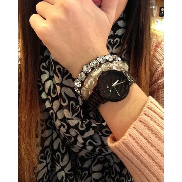 Nixon: The Kensington Watch styled by @adorklikethat on Instagram
