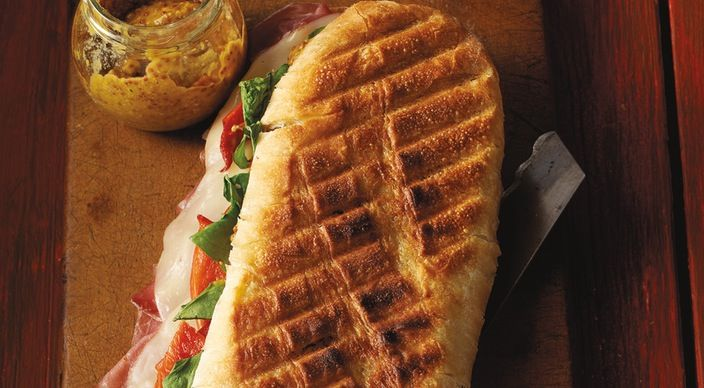 Check out this delicious recipe for Grilled Prosciutto and Provolone Panini from Weber—the world's number one authority in grilling.