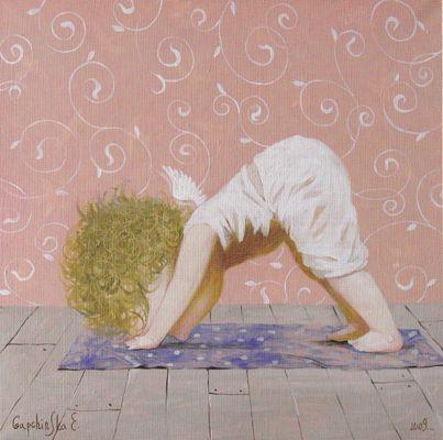Йога для ангелов. Евгения Гапчинская - yoga for angels :)