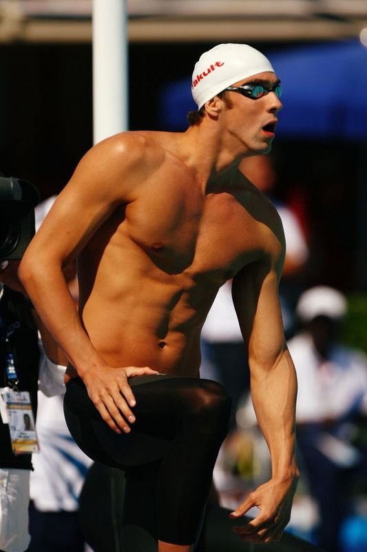 Michael Phelps....now thats a swimmer's body