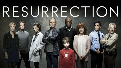 resurrection ~ current favorite indulgence. I LOVE this show. Haven't missed an episode
