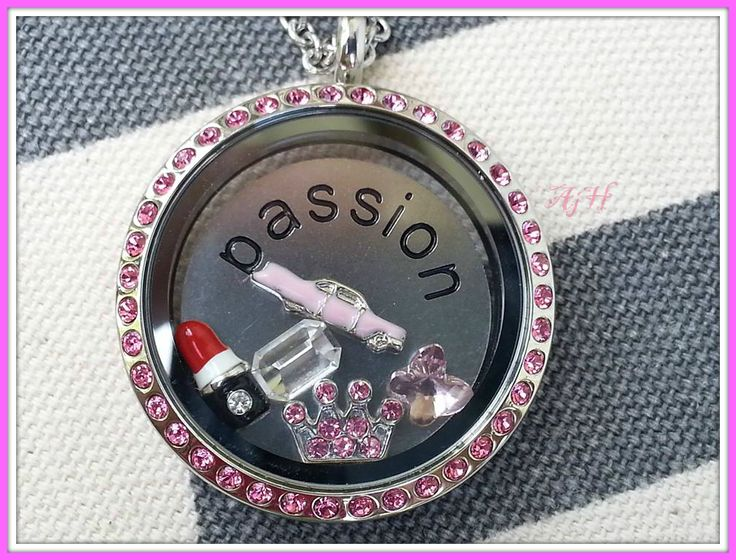 Mary Kay Inspired Locket. What ever you passion is- you can create that with a South Hill Designs locket! janice.palumbos@yahoo.com