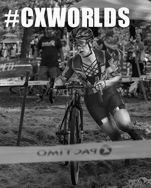 Cyclocross World Championships at our downtown shop this weekend. First up: Saturday. Women's World Championship. Come cheer on @ellenlikesbikes @katiefncompton @kaitiekeough and the rest of the American women as they race for gold. This race is NOT to be missed. Coffee and pastries on tap. ... ... ... ... ... ... ... #ucicxworlds #cxworlds #crossworlds #valkenburg2018 #uci #lifedeathcyclocross #crossiscoming