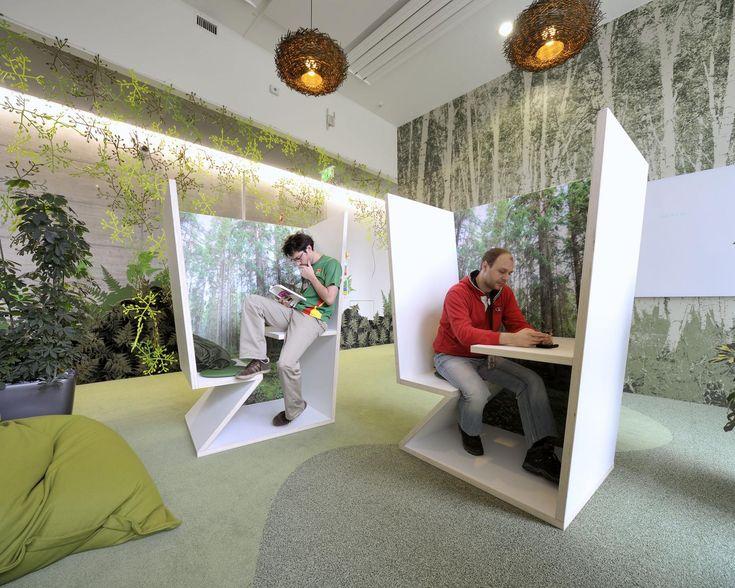 Die besten 25+ innovatives Büro Ideen auf Pinterest Gestaltung - buro zukunft trends modernen arbeitsplatz