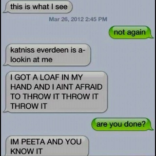 XD lol: Laughing,  Internet Site,  Website, The Hunger Games, Web Site, Funny, Hungergam, Humor, In Peeta