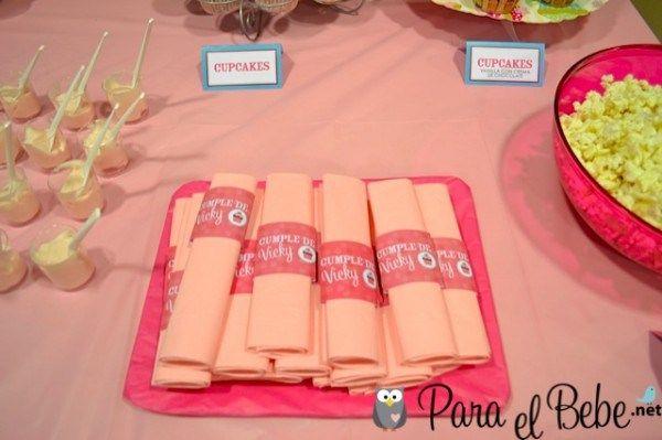 Fiestas temáticas infantiles: cumpleaños de cupcakes