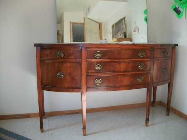 Federal Style Buffet Furniture Period Pieces