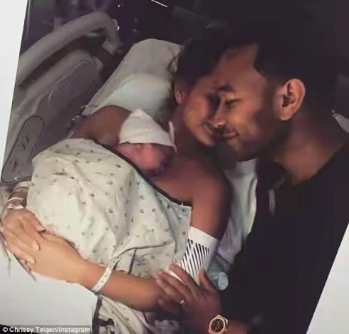 Welcome to ZettaBlog.com: John Legend's Wife shares throwback picture of her...