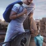 Jarrod Scott for Jean Paul Gaultier 'Le Male' Fragrance Campaign
