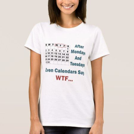 Rude Calendar Full T-Shirt - click to get yours right now!