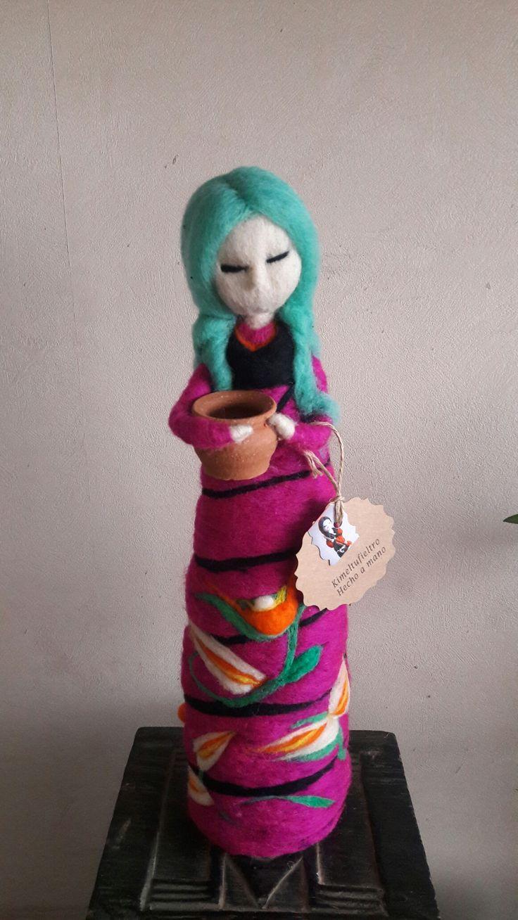 Muñecas de vellon  Kimeltufieltro@gmail.com Carolyn
