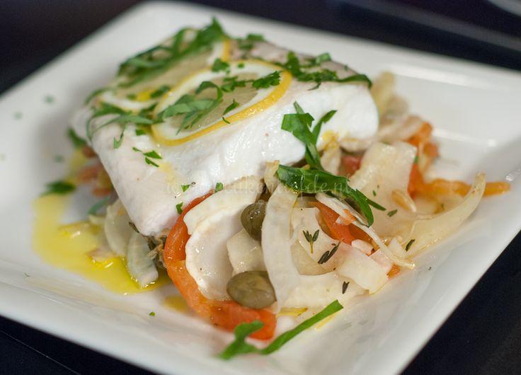 Siciliaanse vis uit de oven - Keuken♥Liefde