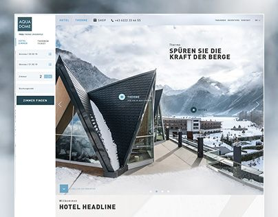 AQUA DOME is a 4-star superior spa hotel in Tyrol and offers both hotel and spa. Guests enjoy the luxurious atmosphere of the hotel and Austria's most modern thermal spa in the midst of an incomparable natural setting in the beautiful Oetztal in Tyrol. FP…
