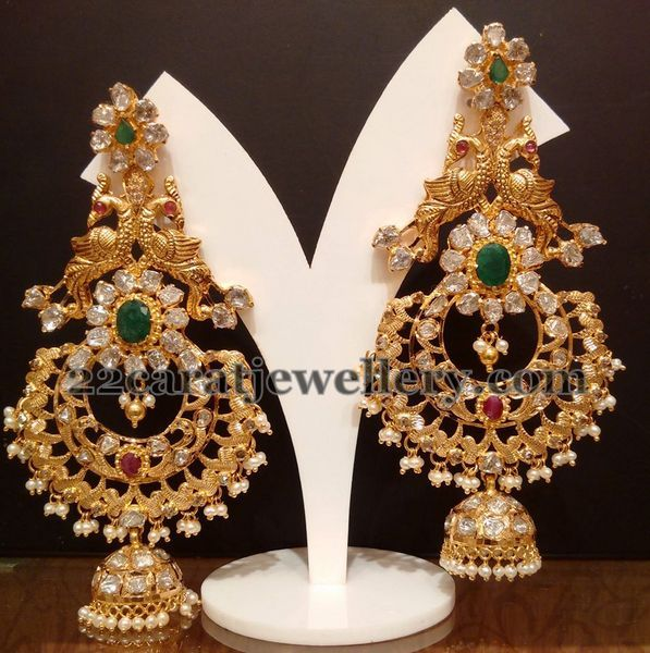 Tremendous Peacock Chandbalis | Jewellery Designs