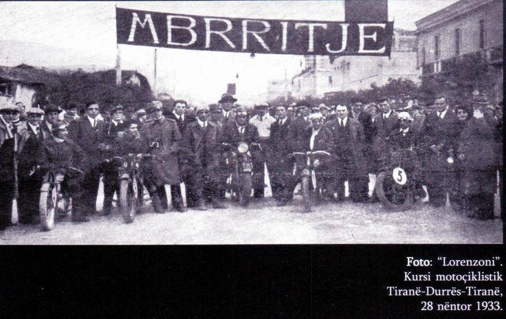 Klubi Turistik dhe Automobilik Mbretëror Tironë Gusht 1933  Nga Ilir DOJKA