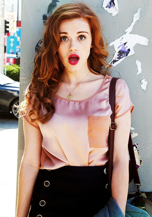 Holland Roden... gotta love a ginger!