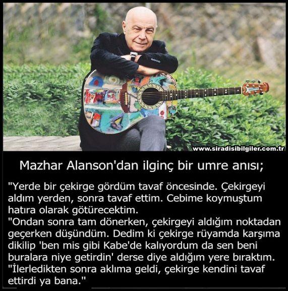"Sadece ""Mazhar"""