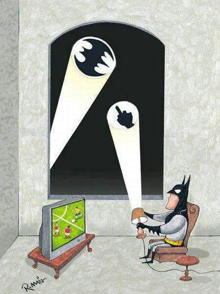 batman is busy