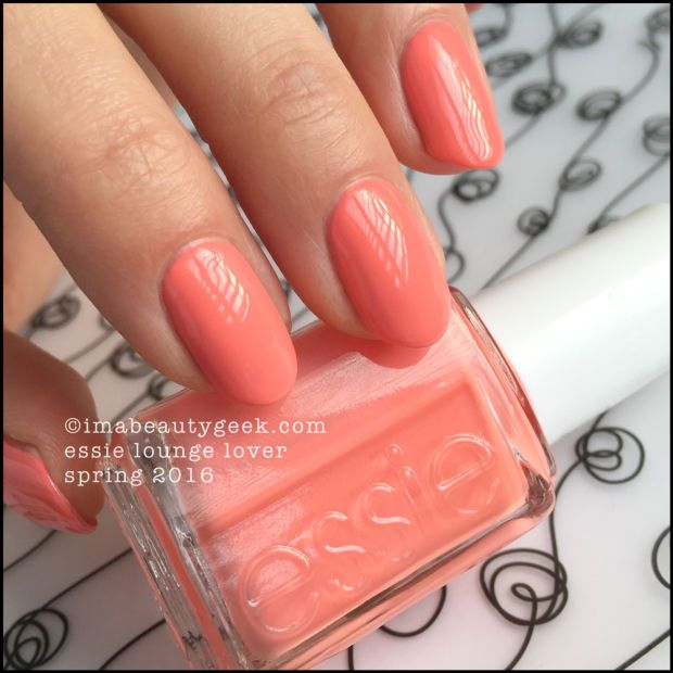 Essie Lounge Lover – Essie Spring 2016. Find the whole collection swatched & compared at imabeautygeek.com