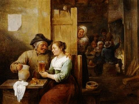 Best Buy Private Auction >> The jealous wife - David Teniers the Younger, 1610-1690 ...