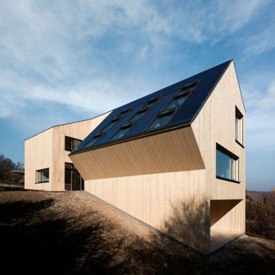 The first zero-energy, carbon-neutral single-family house in Austria. | Photo: Adam Mork, Kopenhagen | thisoldhouse.com