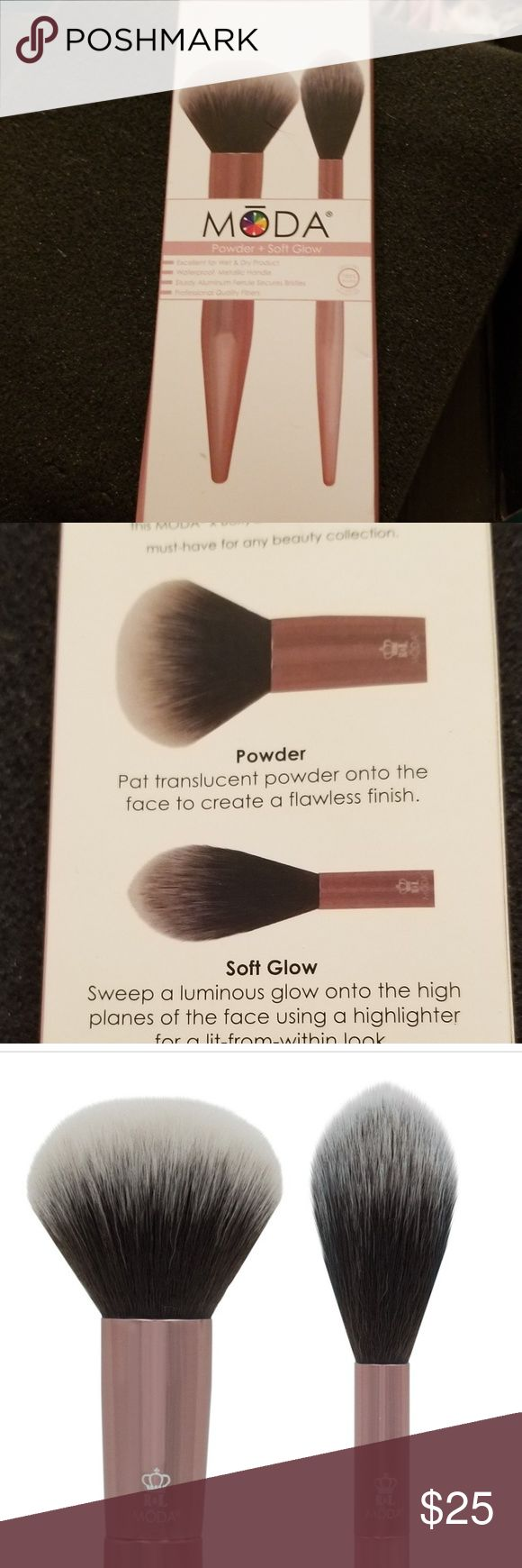 BNIB Moda Brush Duo Brush, Makeup tools brushes, Moda