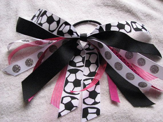 Black and Pink Soccer Girl Pony O by rbwebb02 on Etsy, $4.00