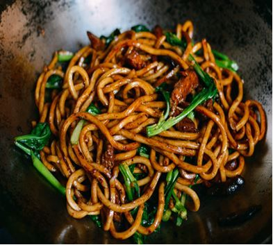 Shanghai Fried Noodles, this looks so good