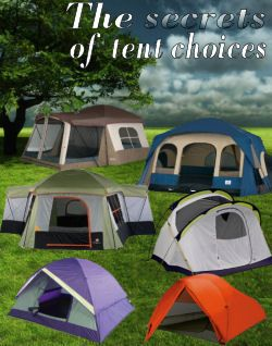 See the secrets to choosing the right camping tent for YOU!