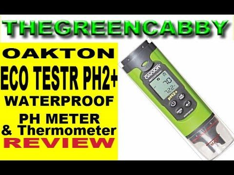 Oakton EcoTestr PH2 Waterproof pH Meter Thermometer portable Tester - PRODUCT REVIEW Oakton EcoTestr PH2 Waterproof pH Meter Thermometer portable Tester - PH2plus PRODUCT REVIEW  BUY PH METER NOW: http://amzn.to/2n4WAyB GET BACKUP BATTERY REPLACEMENT NOW:  http://amzn.to/2nbMQmQ  We have tested many PH Meters in the past this one by far is the best. We use it to test the PH of soap when we cook it we use it to test the water of our Aquaponics Tanks the PH reading of our 20000 gallon rain…